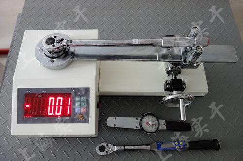 扭矩扳手检定仪,3000N.m检定扭力扳手专用设备
